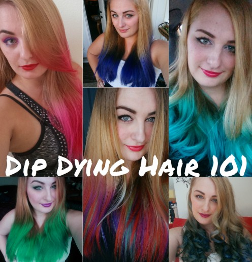 Hair DIY: Dip Dying Hair at Home 101