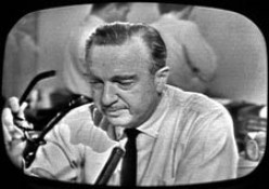 What would Walter Cronkite's editorial on Donald Trump's poll numbers be on this day in history?