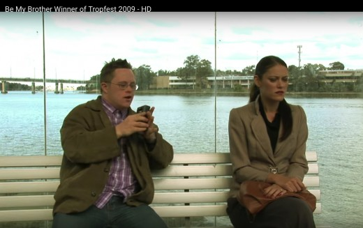 Gerard O'Dwyer and Megan Cooper in 'Be My Brother'
