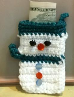 Snowman Treat Ornament