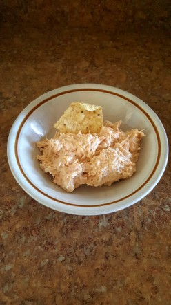 10 minute Chicken Dip