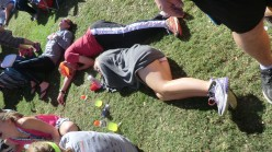 The Walking Dead...or rather, the Walking Injured at the Savannah Rock n Roll Half Marathon