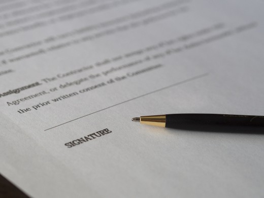 Read the small print when signing contracts and putting down a deposit on your venue.