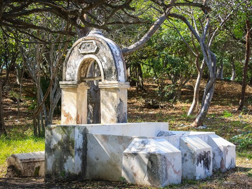 After Mundaca died in Merida, his body never made it to his island tomb that he so carefully constructed.
