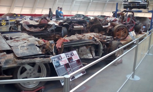Sinkhole Damage, National Corvette Museum, Bowling Green, KY