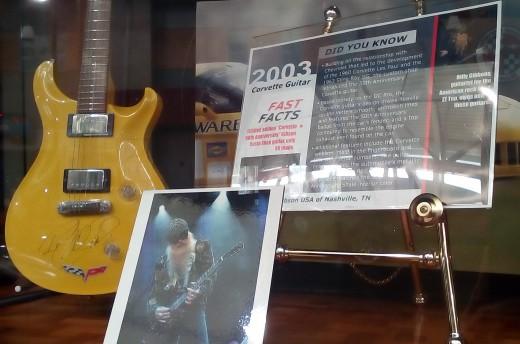Corvette Guitar, National Corvette Museum, Bowling Green, KY