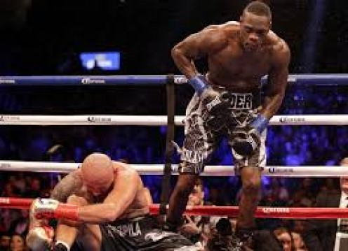 Deontay Wilder scores a brutal KO win over Artur Szpilka which left him leaving the squared circle on a medical stretcher.