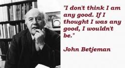 "John Betjeman's ""Westgate-On-Sea"""