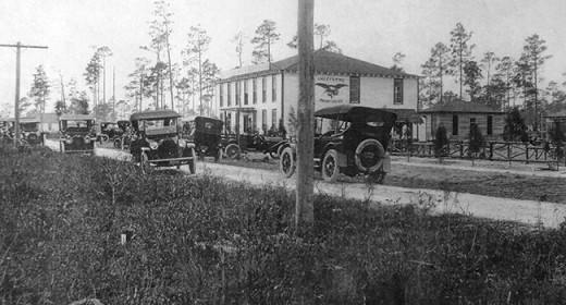 The Norman Studios property back when it was known as Eagle Film City, circa 1916-1920