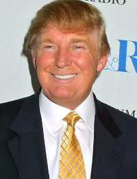 Donald Trump who pulled off a stunning victory against all the odds.