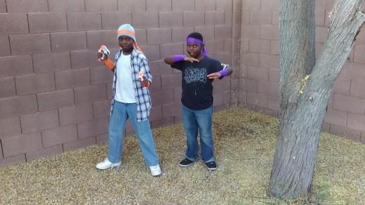 Street Ninja's for Halloween
