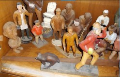 Minnesota Arts:  The Woodcarved Realistic People and Animals of Herman Swenson