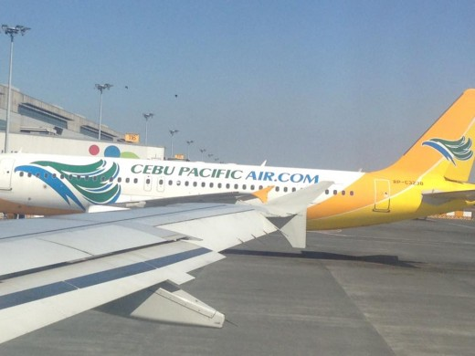 Cebu Pacific Air flies for one-hour from Manila to Puerto Princesa every day