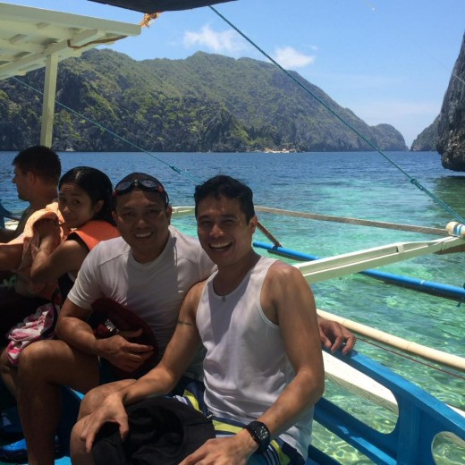 Just got off from snorkelling – one of the most enjoyable things to do in El Nido