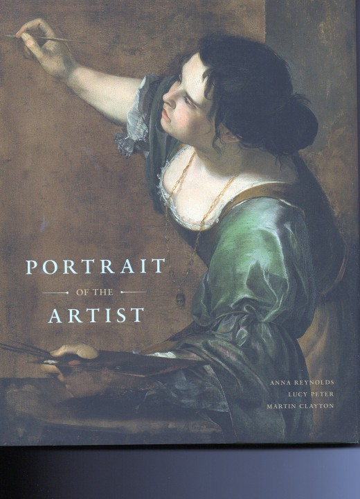 Artemisia Gentileschi, Self-portrait as the Allegory of Painting (La Pittura) c. 1638, featured on the Front Cover of Portrait of the Artist. Copyright image by Royal Collection Trust, all rights reserved.
