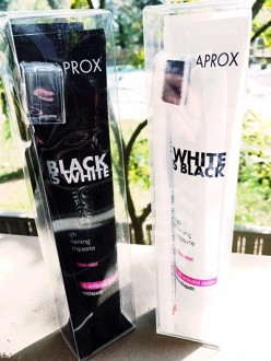 Review of Curaprox's Black Is White Toothpaste