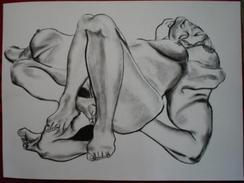 """""""Reclined"""" by Laura Spector"""