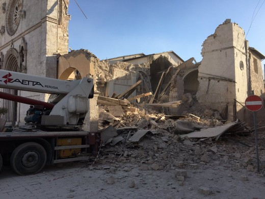 The central Italy earthquakes are continuing. One can only hope that they stop soon to give the people of that regions some hope that things could become to normal one day.