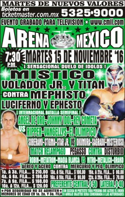 CMLL Tuesday Preview: The Mystery Show