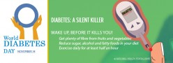 World Diabetes Day - Time To Wake Up