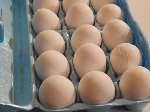 Eggs are a really good source of protein and other essential nutrients and vitamins.