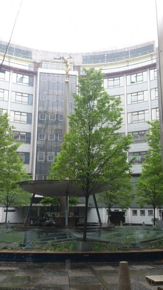 BBC building.