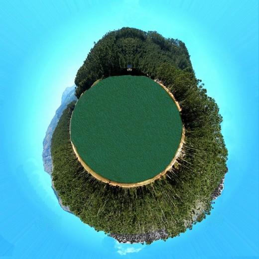 Beautiful Munnar lake