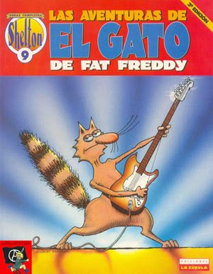 Is this a coincidence? The real Fat Freddy's Cat is from Mexico and loves to Rock.