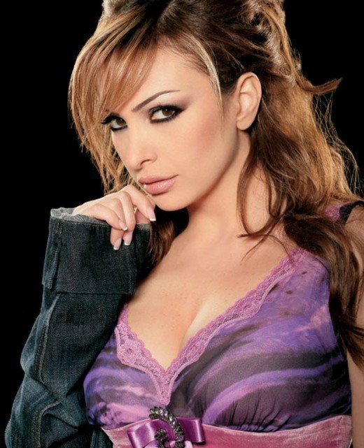 Lebanese singer Amal Hijazi