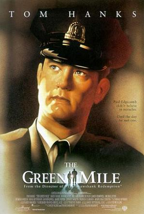The theatrical release poster for the Green Mile by  Drew Struzan