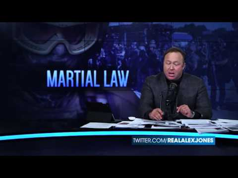 Alex Jones - Proudly predicting imminent martial law for three decades.  Always wrong.