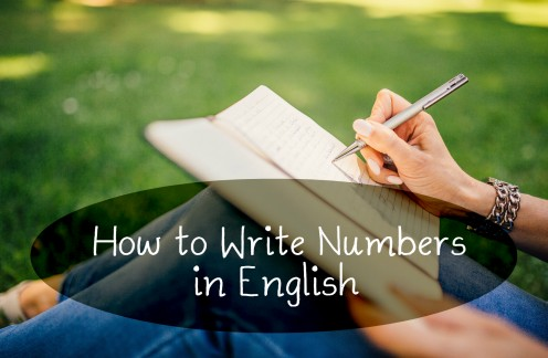 How to Write Numbers in English From 1 to 10,000