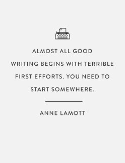 Crappy First Drafts: Anne Lamott's Guide to Successful Writing