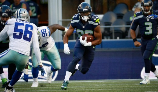 Seattle Seahawks RB C.J. Prosise
