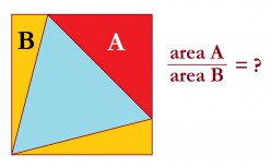 Inscribed Squares and Triangles: Challenging Geometry Problems With Solutions
