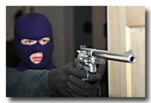 One of the most common crimes I spotted in people was Robbery especially armed robbery with the use of a firearm.