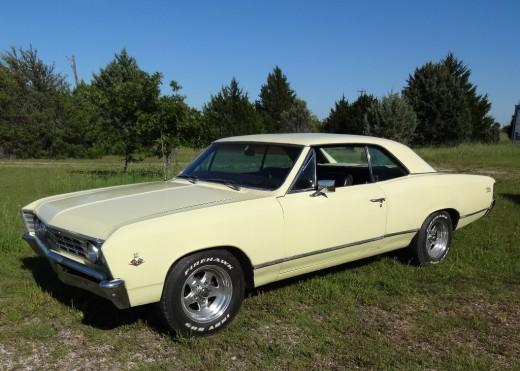 1967 Chevy Mailbu - Restored