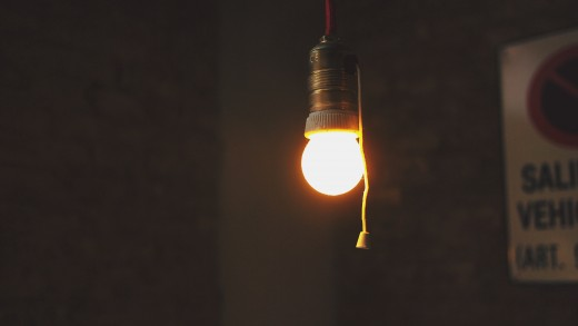 If you begin by turning off at least five unused lights each day, you'll soon establish a habit that will last a lifetime.