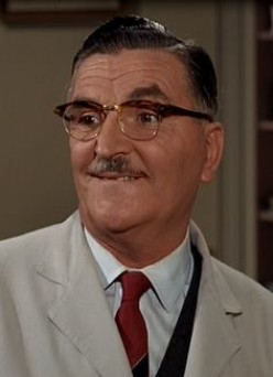 Howard McNear was  Floyd the barber