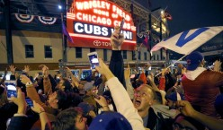Cubs 108-year championship drought is over, beat Cleveland 8-7 in 10 innings in Game 7.