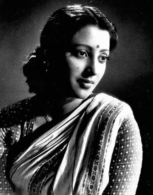 Indian actress Suchitra Sen