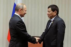 Putin and Duterte