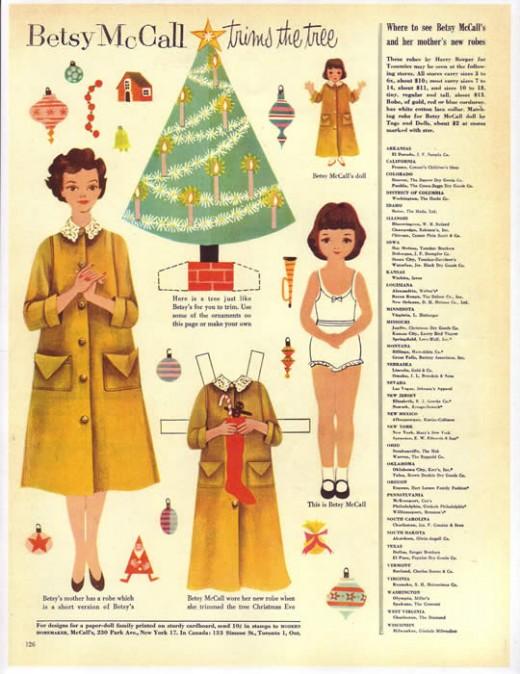 Betsy Mcall December 1954