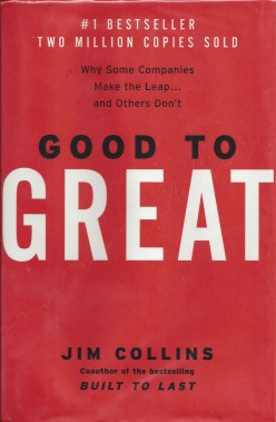 "Lessons Learned from the Book ""Good to Great"""
