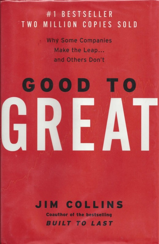 """Scanned Copy of the Book """"Good to Great"""" by Collins"""