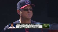 Francona named AL Manager of the Year. He got the most out of his Tribe who came up one game short of being Champions.