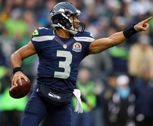 Seattle Seahawks QB Russell Wilson led an efficient offensive attack