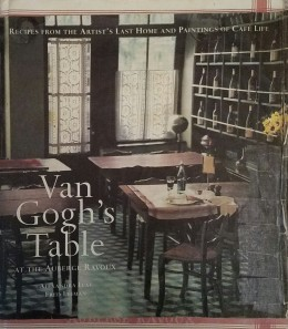 Picture of my favorite cookbook about my favorite painter