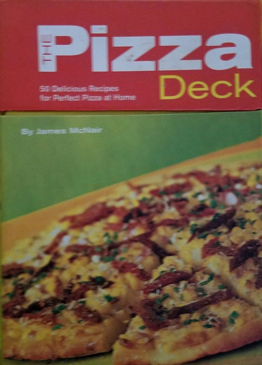 Mix and Match ideas from this deck to make new and exciting pizzas for the whole family!