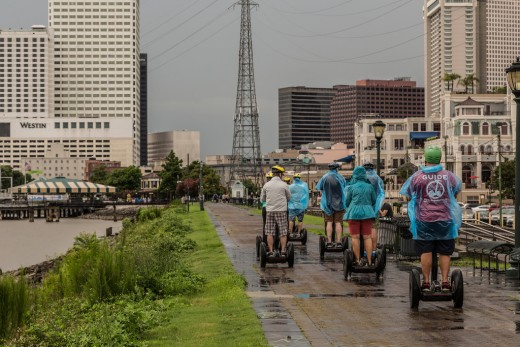 New Orleans Riverwalk Segway Tour